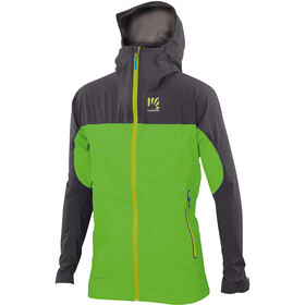 Karpos Vetta Evo Chaqueta Hombre, apple green/dark grey